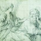 Giovan Battista Salvi detto il Sassoferrato, Un angelo appare ad Elia, Collezione Kamph