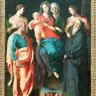 Madonna col Bambino, sant'Anna e quattro santi