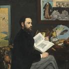 Édouard Manet, Émile Zola, 1868, Olio su tela, 114 x 146 cm, Parigi, Musée d'Orsay | © René-Gabriel Ojéda / RMN-Réunion des Musées Nationaux/ distr. Alinari