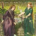 Dante Gabriel Rossetti, Visione di Dante: Rachele e Lia, 1855. Acquerello su carta, cm 35,2 x 31,4. Lascito di Beresford Rimington Heaton, 1940 ©Tate, London 2014