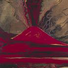 Andy Warhol, Vesuvio, 1984, Acrilico su tela, 80 x 100 cm, Collezione Consolandi