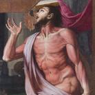Bronzino (Agnolo di Cosimo), San Bartolomeo, s.d., Olio su tavola, 93.7 x 155.7 x 3.7 cm, Accademia Nazionale di San Luca, Roma