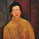 Amedeo Modigliani (Livorno,1884 - Paris, 1920), Chaïm Soutine, 1916, Olio su tela, 65 x 100cm, Collezione Jonas Netter