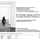 Ettore Spalletti. Un giorno così bianco, così bianco