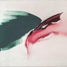Renata Rampazzi, Lacerazioni, 1980, Olio su tela, 160 x 60 cm