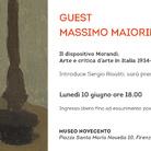 Guest - Massimo Maiorino. Il dispositivo Morandi. Arte e critica d'arte in Italia 1934-2018