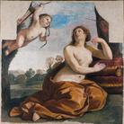 Giovanni Francesco Barbieri (detto il Guercino), Venere e Amore, 1632, Affresco staccato e trasportato su tela, 175 x 176 x 4 cm, Accademia Nazionale di San Luca, Roma