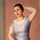 Antonio Donghi, Donna alla toletta, 1930, Olio su tela Roma, Galleria d'Arte Moderna| Courtesy of Galleria d'Arte Moderna, Roma