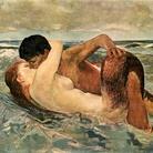 Max Klinger (1857 - 1920), Il bacio della sirena, 1895