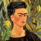Frida Kahlo, Autoritratto con bonito, 1941, Olio su tela, 55 x 43,4 cm, Collezione privata, USA, Riproduzione formato Modlight | © Banco de México Diego Rivera & Frida Kahlo Museums Trust, México D.F.