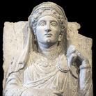 Rilievo funerario con ritratto femminile, Primi decenni III secolo d.C., Calcare, 6 x 59 cm, Museo di Scultura Antica Giovanni Barracco | Foto © Gianluca Baronchelli