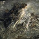 Giovanni Boldini, La marchesa Casati con piume di pavone, 1911-1913,Olio su tela, 176 x 130 cm, Roma, Galleria Nazionale d'Arte Moderna e Contemporanea