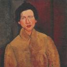 Amedeo Modigliani (Livorno,1884 - Parigi, 1920), Ritratto di Chaïm Soutine, 1916, Olio su tela, 100 x 65 cm, Parigi, Collezione privata