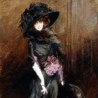 Giovanni Boldini, Marchesa Luisa Casati with a Greyhound, 1908, Private Collection