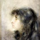 Luigi Conconi, Pensieri, 1878-1888, Acquarello, 26 x 39.9 cm, Milano, Museo Scienza e Tecnologia