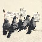 Il murales antirazzista di Banksy