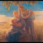 Gaetano Previati, Georgica, 1905, olio su tela, cm 168 x 215. Città del Vaticano, Musei Vaticani, inv. 43354. Foto © Governatorato dello Stato della Città del Vaticano - Direzione dei Musei
