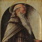 Polittico Griffoni, 1472-1473 circa, Ercole de Roberti, Sant'Antonio Abate, Rotterdam, Museum Boijmans Van Beuningen