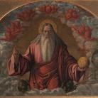 Vittore Carpaccio, Padre Eterno benedicente fra cherubini,Milano, Museo Diocesano