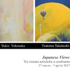 Japanese Views / Tre visioni artistiche a confronto