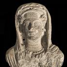 Busto muliebre da sarcofago palmireno, Seconda metà II secolo d.C., Calcare, 29.5 x 14.5 x 36.4 cm, Terra Sancta Museum - sezione archeologica, Gerusalemme | Foto © Gianluca Baronchelli