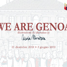 We are Genoa. Illustrazioni di Nicola Montera