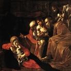 Michelangelo Merisi da Caravaggio, Adorazione dei Pastori, 1608. Olio su tela, cm 314x211. Provenienza: Messina, Chiesa dei Cappuccini. Messina, Museo Regionale
