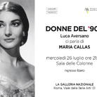 Donne del '900 - Incontro con Luca Aversano. Una donna Maria Callas