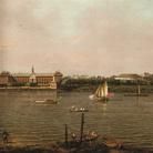 Canaletto (1697-1768), Il Chelsea College, la Rotonda, casa Ranelagh e il Tamigi, Londra, 1751, Olio su tela, 127 x 95.5 cm, La Habana (Cuba), Coleccion Museo Nacional de Bellas Artes