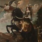G. Luigi Buffi, Ritratto equestre di Maria Giovanna Battista di Savoia Nemours, 1670 ca, Palazzo Madama, Torino