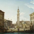 Pietro Bellotti, Il Campo SS. Apostoli dal Rio SS. Apostoli, cm 34,7 x 50,2. Collezione privata