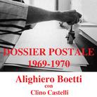 Dossier Postale 1969-1970. Alighiero Boetti con Clino Castelli