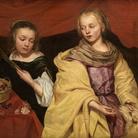 Michaelina Wautier (1617 - 1689), Ritratto di due fanciulle come Sant'Agnese e Santa Dorotea, 1655 circa, Olio su tela, Royal Museum of Fine Arts Antwerp (KMSKA) | © KMSKA www.lukasweb.be - Art in Flanders | Foto: Hugo Maertens