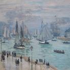 Claude Monet, Le Havre, Bâteaux de Peche Sortant du Port, 1874, Olio su tela, Collezione privata, prestito a lungo termine a LACMA