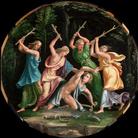 Giulio Romano e bottega, Orfeo ucciso dalle baccanti, Collezione privata