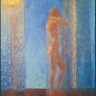 Felice Casorati, Notturno, 1912-13 olio su tela, cm 130 x 115. Collezione privata