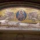 Grotte Vaticane, Sepolcro di Pio XI, Basilica di San Pietro a Roma, Immagine tratta dal film
