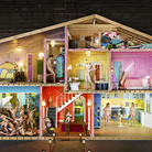 David LaChapelle Studio, Self Portrait as House, 2013 | © David LaChapelle