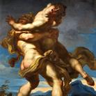 Gregorio de Ferrari (1647 - 1726), Ercole e Anteo, Fine XVII secolo, Olio su tela, Genova, Galleria Nazionale della Liguria a Palazzo Spinola