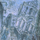 Leon Kossoff, Christ Church, Spitalfields, Morning | Foto: © Tate London | Courtesy of Chiostro del Bramante, Roma