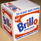 Andy Warhol, Brillo Soap Pads Box, 1964. Courtesy The Brant Foundation, Greenwich, CT, USA. © The Andy Warhol Foundation for the Visual Arts Inc. by SIAE 2013