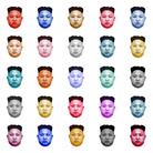 Max Papeschi, DAMIEN HIRST / United Colors of Kim, 2016,