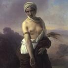 Francesco Hayez (Venezia, 1791 - Milano, 1882), Ruth, 1853, Olio su tela, 100 x 138 cm