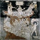 Particolare del Pavimento del Duomo di Siena: Colle della Sapienza
