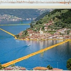 Christo e Jeanne-Claude, The Floating Piers (Project for Iseo Lake, Italy) 2014