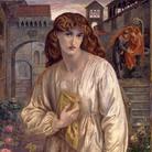 Dante Gabriel Rossetti (Londra, 1828 - Kent, 1882), Il saluto di Beatrice, 1880-1882, Olio su tela, 154.3 x 91.4 cm, Toledo (Ohio), Museum of Art