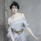 Giovanni Boldini, Ritratto di M.me Charles Max, 1896, Olio su tela, Parigi, Museé d'Orsay
