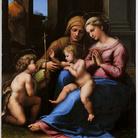 Raffaello Sanzio. Madonna del Divino Amore