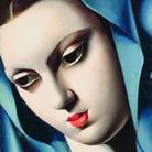 Tamara de Lempicka, La Vierge bleue, 1934. Olio su tavola, 20x13,5 cm. Collezione privata © Tamara Art Heritage. Licensed by MMI NYC/ ADAGP Paris/ SIAE Roma 2015
