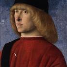 Giovanni Bellini, Ritratto di giovane in veste senatoria, 1485 circa, Olio su tavola, 26.4 x 35 cm, Musei Civici, Museo d'Arte Medioevale e Moderna, Padova